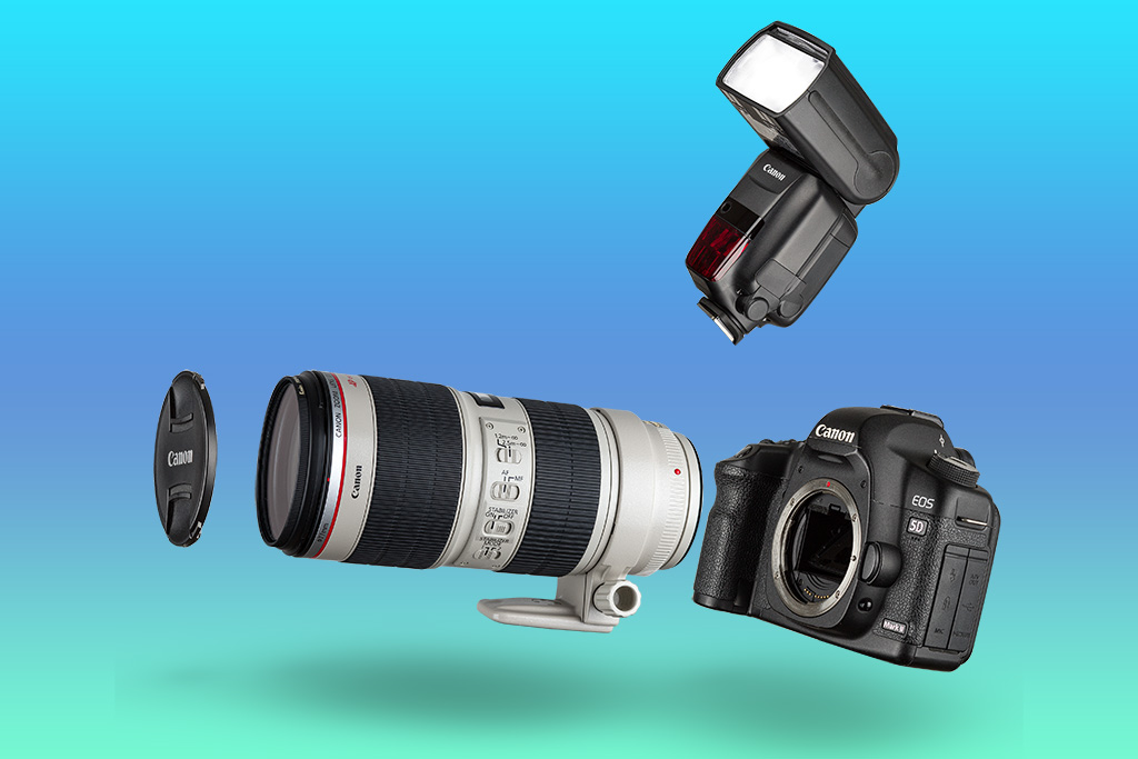 Cannon - Foto de Produto Still para E-Commerce
