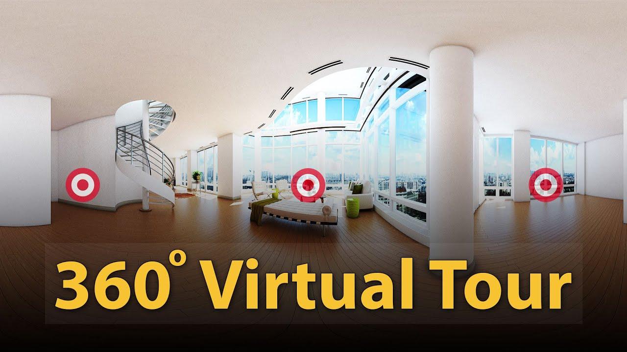 Criação de Tour Virtual por Adilson Moralez
